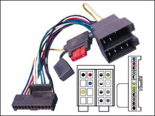Schema Collegamento Autoradio Pioneer : Cavo per autoradio con connettore iso multimarca